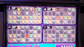 Jackpot Block Party penny slot machine bonus (Coushatta)