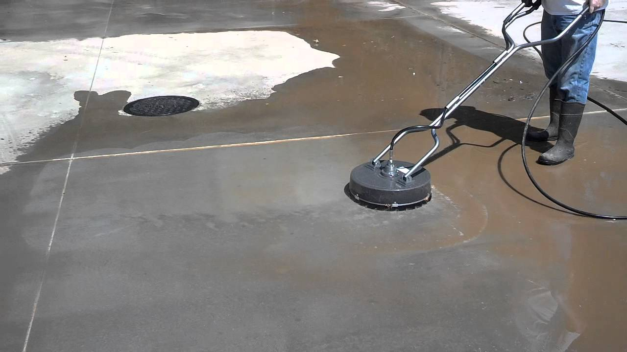 General Dfscp 18 Quot Flat Surface Cleaner Demonstration Youtube