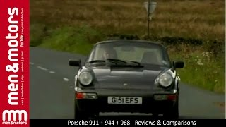 porsche 911 vs 944 vs 968 test drive review
