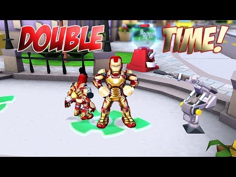 Marvel super hero squad online iron man mk 42 mini iron - Mini iron man ...