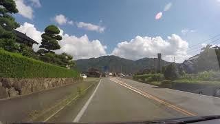 【但馬ドライブ】但馬日高郵便局前交差点→宮田交差点 60fps