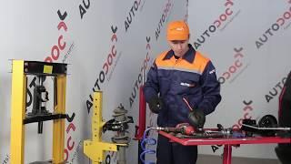 OPEL ZAFIRA A (F75_) Raddrehzahlsensor auswechseln - Video-Anleitungen