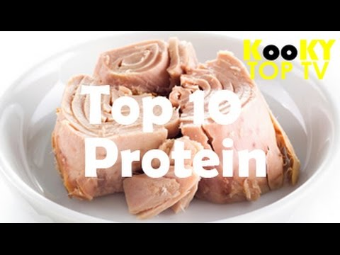 TOP 10 Protein Foods for Bodybuilding and Fitness
