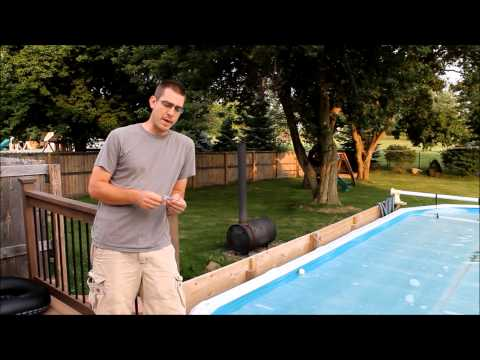 Wood Burning Pool Heater - How Well Does it Work?
