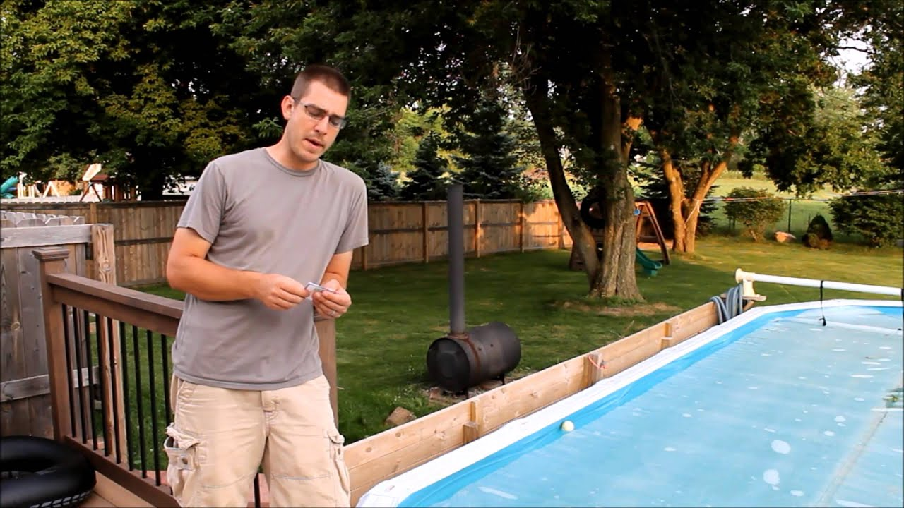 Wood Burning Pool Heater How Well Does It Work Youtube