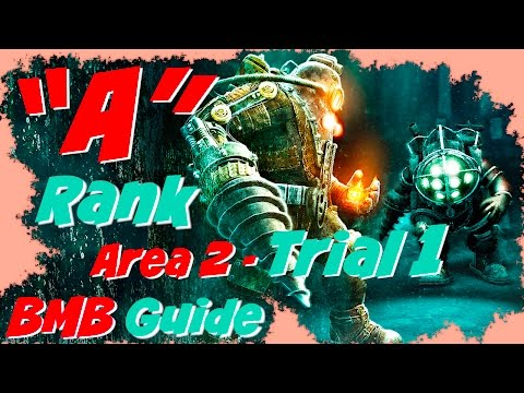 Bioshock 2 Protector Trials A Rank Guide - Trial 1 Atlantic Express Walkthrough