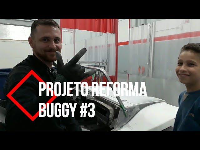 Projeto Reforma Buggy #2   Desbaste Pintura   Chegou o parabrisas