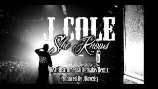 J Cole - She Knows [ Beat Instrumental Remix ] (Prod. JRowzEy)