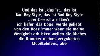 Kollegah - Bad Boy (Lyrics) HD