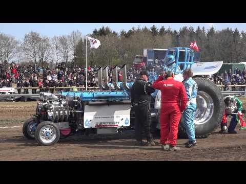 Heavy Modified @ Brande DK 2015 Tractor Pulling