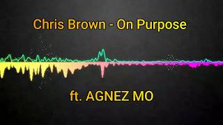 Chris Brown - On Purpose ft. AGNEZ MO (Offical Song) lyrics