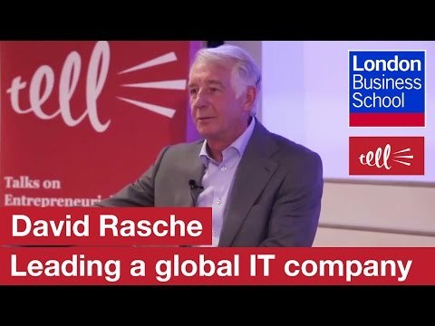 David Rasche: The story of SSP, a global software provider | London Business School