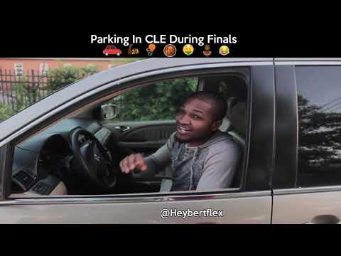 PARKING IN CLEVELAND DURING THE FINALS