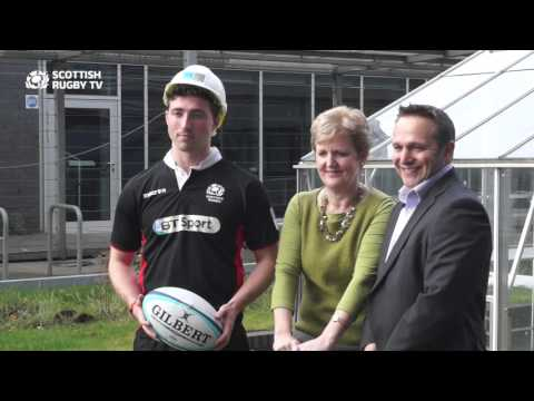 BT Sport Scottish Rugby Academy breaks ground at Napier