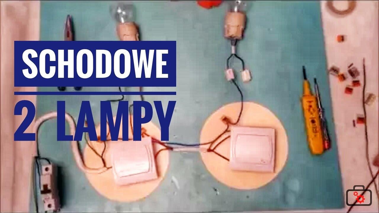Przełączniki Schodowe I Dwie Lampy