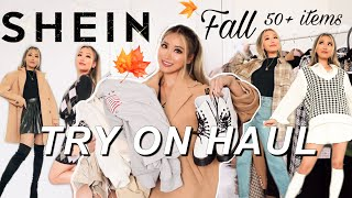 HUGE FALL SHEIN TRY ON HAUL 🍁| Fall outfits 2020 *discount code*