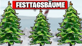 FREE Christmas Item 🎄 Dance Holiday Trees | Fortnite 14 Days Day 8 Gifts German