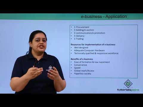 E-Business - Application