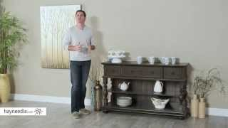 Steve Silver Leona Buffet - Acacia - Product Review Video