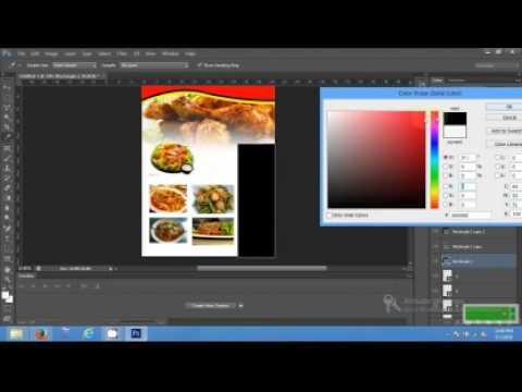 Membuat Brosur Cara Membuat Brosur Makanan Dengan Photoshop Cs6
