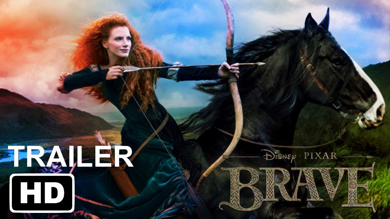 Brave Live Action 2021 Mix Up Movie Concept Youtube