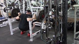 Jason Blaha Workout 11-16-2017 - Paused Squat Day, The Road Back To 500 Lbs Begins Now