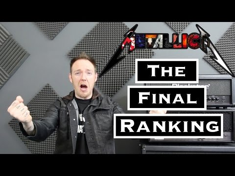 Metallica The Final Ranking : My Top 5  Songs EVER!