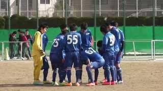 2015.1.31 高校サッカーTRM1 光陵高校 vs 玄界高校
