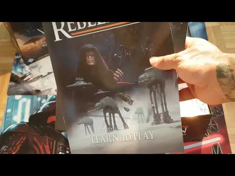 Star Wars Rebellion Unboxing! |