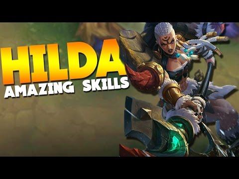 Mobile Legends Hilda Skills / Abilities (New Hero)