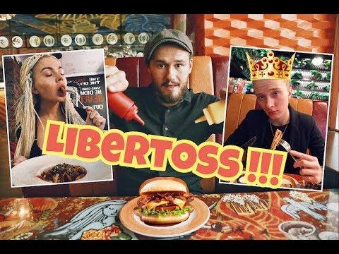 Бизнес ланч №4,  обзор ресторана Liberty, пригласили Олю!!