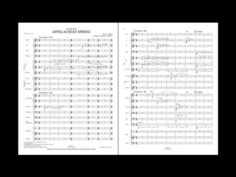 Excerpts from Appalachian Spring by Copland/arr. Longfield
