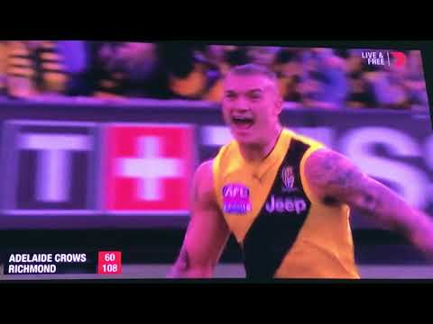 AFL Grand Final 2017, The Last Minute
