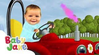 Baby Jake - Lovely Red Truck | Full Episodes | Yaki Yaki Yogi | Cartoons for Kids