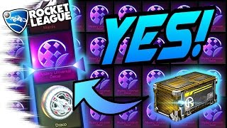 new mystery decal more best nitro rocket league crate opening bubbly spectre mantis draco