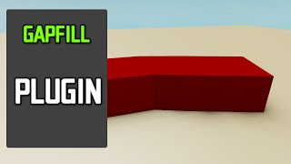 How to Use And Install The GapFill Plugin | RobloxStudio