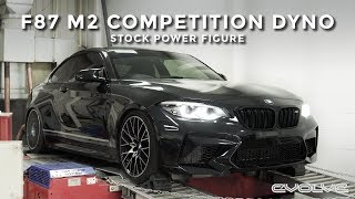 BMW F87 M2 Competition on the Dyno