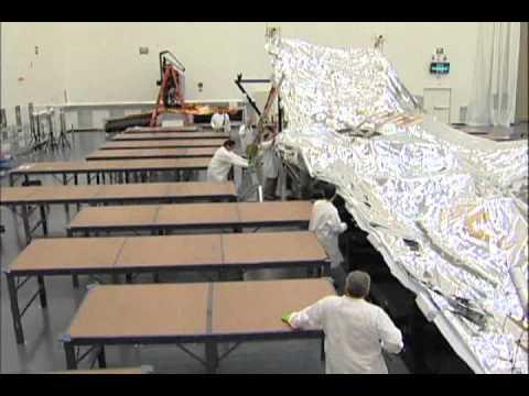 James Webb Space Telescope: Sunshield Deployment Testing