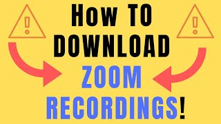 Gambar cover how to download zoom recording (zoom download)