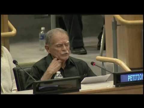 Oscar López denuncia el impacto del colonialismo en Puerto Rico ante la ONU