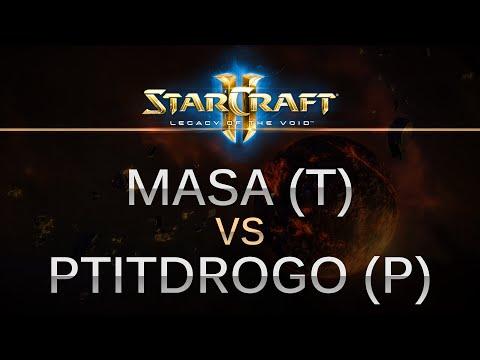 StarCraft 2 - Legacy of the Void - MaSa (T) v Ptitdrogo (P) on Frost