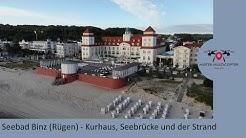 Drohne - Binz (Rügen) - Kurhaus, Seebrücke und der Strand