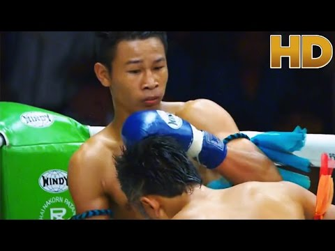 Super Best Elbow KO Then Knee to The Head - Title Fight
