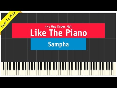 Sampha - (No One Knows Me) Like The Piano - How To Play Tutorial