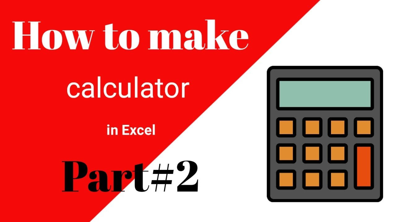 How to use percentage in calculator || excel vba calculator || excel vba calculations in a userform