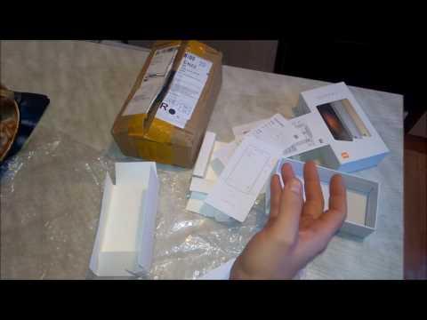 неудачная покупка на aliexpress. Вытащили товар из посылки. xiaomi redmi 3s
