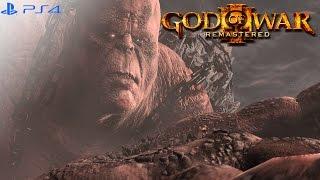 God of War 3 Remastered - Kratos Vs. Cronos Boss Fight [1080p 60fps]