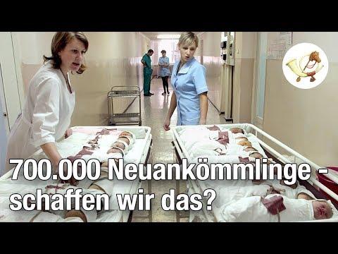 Report: 700.000 Neuankömmlinge jährlich - schaffen wir das? [Postillon24]