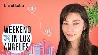 Los Angeles: Airbnb office, WeWork, Home Tour, Louis Vuitton Exhibition 2019