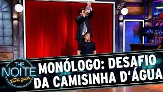 The Noite (01/12/15) - Monólogo: Desafio da Camisinha d